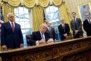 Traités: deux ex-conseillers inquiets des intentions de Trump