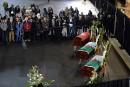 Funérailles de trois victimes de la tuerie de Québec
