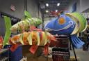 Des poissons multicolores font partie des nouveaux animaux représentés au... | 2 février 2017