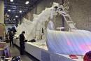 Le char immaculé du «tableau des vents», sur lequel prendront... | 2 février 2017