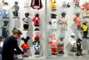 La garde-robe du Manneken-Pis au musée