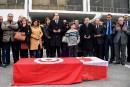 Hommage officiel à Tunis pour la victime tunisienne