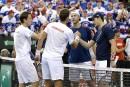Coupe Davis: les Britanniques mènent 2-1 face aux Canadiens
