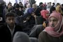 Des familles syriennes s'envolent pour les États-Unis