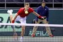 Vasek Pospisil a gagné son match en quatre sets.... | 5 février 2017