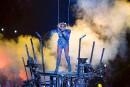 Lady Gaga a offert une prestation haute en couleur lors... | 6 février 2017