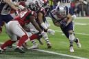 Danny Amendola, des Patriots, a réussi un converti de 2... | 6 février 2017