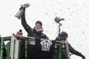 Les Patriots célèbrent dans les rues de Boston