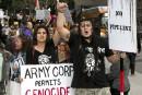 Les Amérindiens demandent l'arrêt de la construction d'un oléoduc