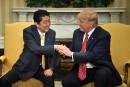 Missile nord-coréen: Trump assure Tokyo de son soutien «à100%»