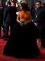 Rihanna à son arrivée sur le tapis rouge...   12 février 2017