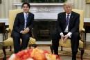 Trudeau et Trump insistent sur leurs priorités communes