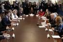 Rencontre entre Donald Trump et Justin Trudeau, à la Maison-Blanche... | 13 février 2017