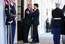 Première poignée de main entre Donald Trump et Justin Trudeau.... | 14 février 2017