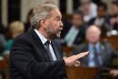Trump et les femmes: Trudeau a réhabilité l'image du président, dit Mulcair