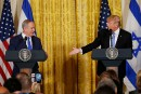 Trump enchante en Israël, alarme à Ramallah
