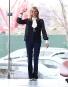Tory Burch au défilé présentant sa collection... | 16 février 2017