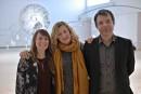 Les commissaires Anne-Sophie Blanchet et Alexia Fabre en compagnie du... | 16 février 2017