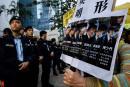 Manifestant tabassé à Hong Kong: sept policiers condamnés