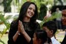 Angelina Jolie présente son film sur les Khmers rouges au Cambodge