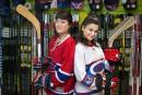 Ça sent la coupe: deux filles, le hockey et la vie