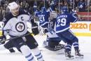 Les Maple Leafs battent les Jets en prolongation