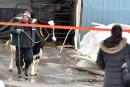 Les secours ont extirpé des décombres quelques bêtes en après-midi.... | 22 février 2017