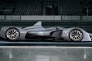 Les premières images de la prochaine voiture de Formule E dévoilées