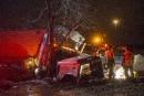 Un camionneur évite le pire sur la 610