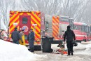 Jeudi, quelque 60personnes étaient sur les lieux du drame. Des... | 23 février 2017
