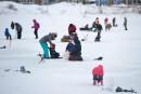 Village Nordik: pêcher sur la glace au coeur de Québec