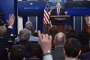 Des médias refusés d'accès à la Maison-Blanche