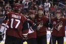 Vrbata donne la victoire aux Coyotes