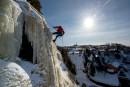 De l'escalade de glace... en ville