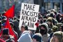 Plus de 200 manifestants de différentes factions se sont réunis... | 4 mars 2017