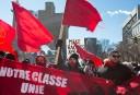 Plus de 200 manifestants de différentes factions se sont réunis...   4 mars 2017