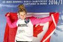 Jacqueline Legere a conservé son titre de championne du monde.... | 4 mars 2017