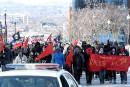 Des manifestations antagonistes partout au Québec