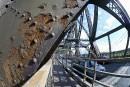 Pont de Québec: Labeaume pose la question de la sécurité<strong></strong>
