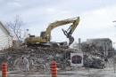 Le mandat de démolition a été confié à l'entreprise Construction... | 10 mars 2017