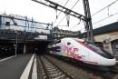 Le TGV continue sa course vers l'ouest