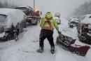 Chaos sur l'autoroute 10