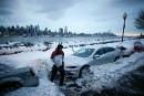 Blizzard sur le nord-est américain, transports quasi paralysés
