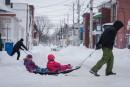 De 40 à 60 cm de neige sont tombés sur la région