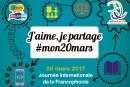 Journée internationale de la Francophonie - 20 mars 2017