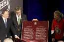 Dévoilement d'une plaque proclammant la coupe Stanley devient un symbole... | 17 mars 2017
