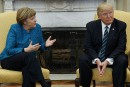 Merkel-Trump: premier contact délicat et divergences flagrantes