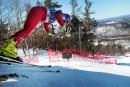 Finales masculines du circuit Nor-Am de ski alpin au Mont Sainte-Marie