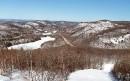 Le paysage entourant le Mont Sainte-Marie.... | 17 mars 2017