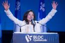 Martine Ouellet couronnée chef du Bloc québécois
